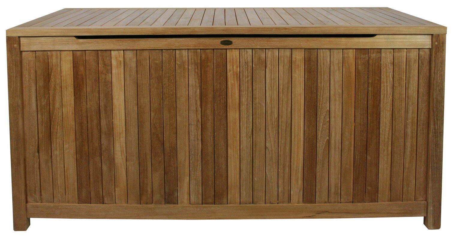 Bay Isle Home Everleigh Teak Deck Box