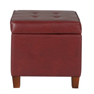 Marie Square Shape Tufted Storage Ottoman