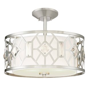 Cauthen 2-Light Semi Flush..