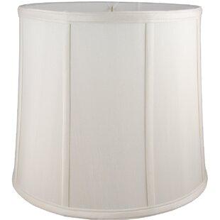9 Faux Silk Drum Lamp Shade