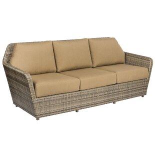 Pueblo Patio Sofa with Cushions by Woodard