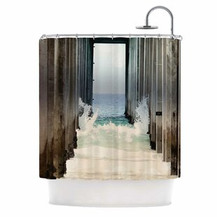 Under The Pier Shower Curtain by East Urban Home