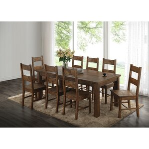 Guyenne 9 Piece Dining Set by Loon Peak