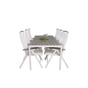 Alanah 6 Seater Dining Set By Sol 72 Outdoor