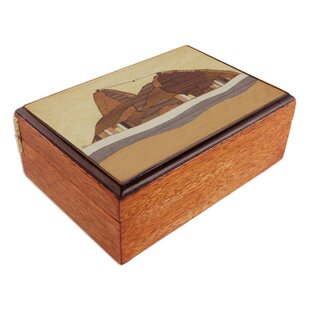 Affordable Price Treasure of Sugarloaf Mountain Wood Jewelry Box ByBloomsbury Market