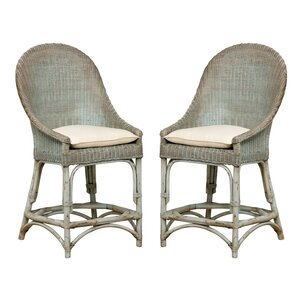 Glenville Solid Barrel Chair (Set of 2) by Bayou Breeze