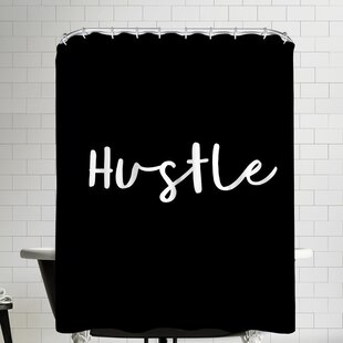 Hustle Single Shower Curtain