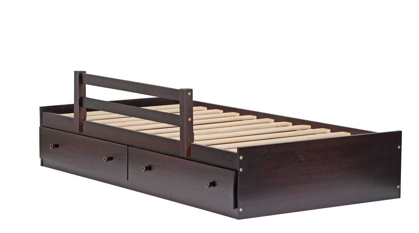 PalaceImports Kansas Mate\'s Bed with Drawers & Reviews   Wayfair