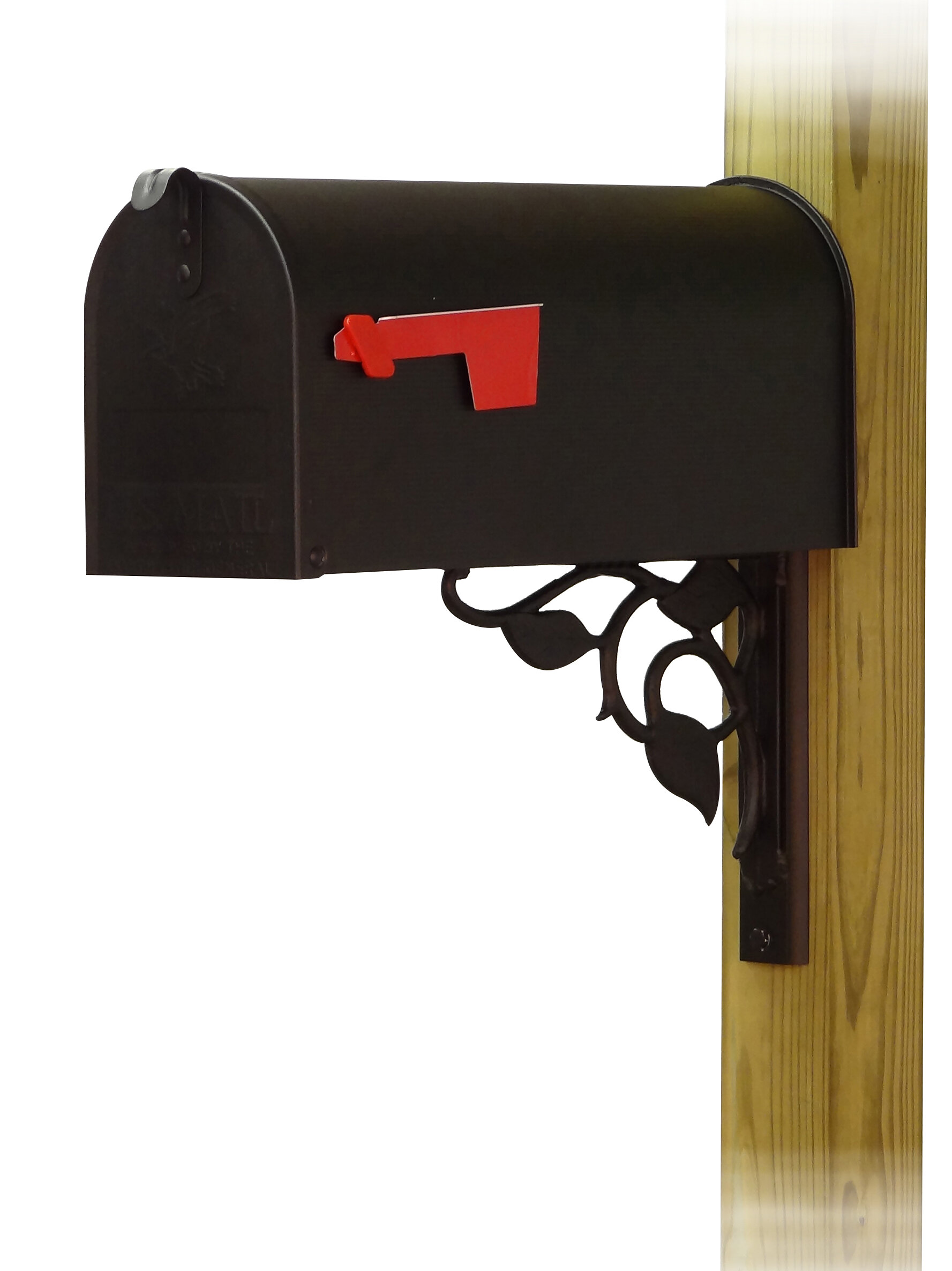Special Lite Products Standard Steel Curbside Post Mounted Mailbox Wayfair