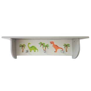 Withnell Wall Mounted Coat Rack By Zoomie Kids