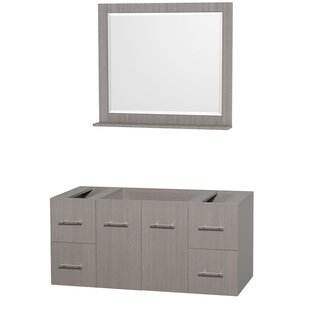 Centra 47 Single Bathroom Vanity Base by Wyndham Collection