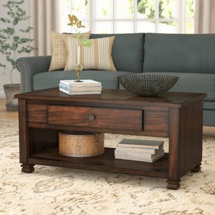 Colman Coffee Table with Storage by Winst..