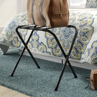 Caudill Foldable Luggage Rack By Rebrilliant