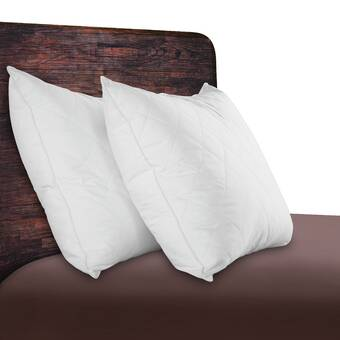 Standard Sleep Solutions Quilted Feather Pillow