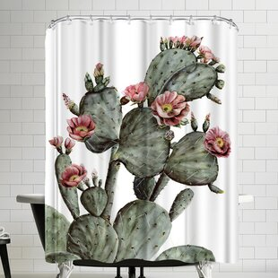 Prickly Pear Single Shower Curtain