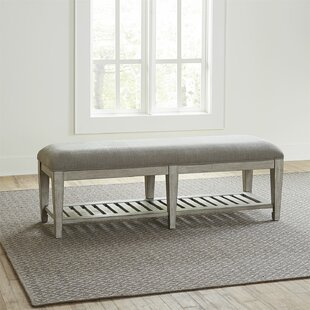Goshen Upholstered Bench by Gracie Oaks