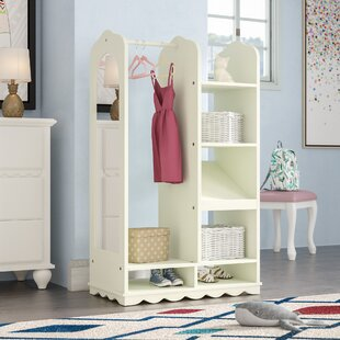 Ducan Dress-Up Wardrobe Armoire by Harriet Bee