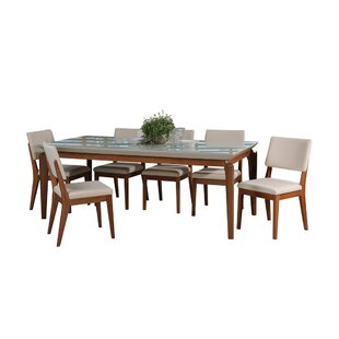 Tatro 7 Piece Solid Wood Dining Set by Union Rustic