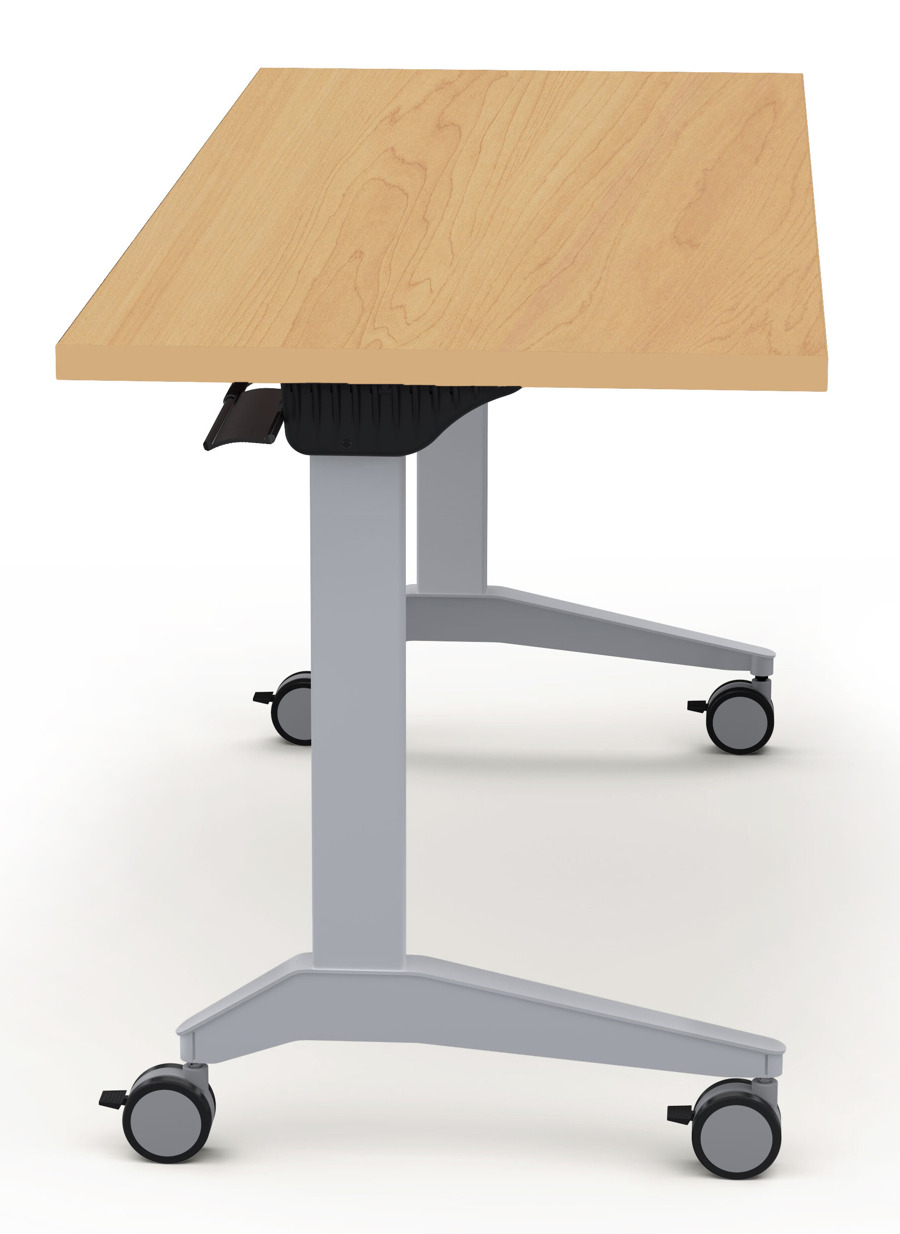 Baltix Sustainable Furniture Height Adjustable Training Table With - Adjustable training table