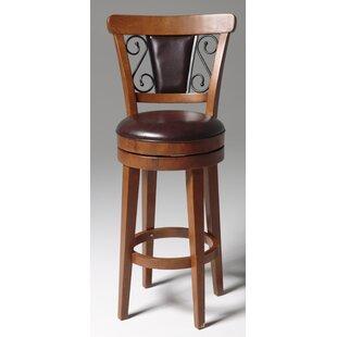 Edwardsburg 26 Swivel Bar Stool by Astoria Grand