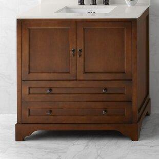 Milano 36 Single Bathroom Vanity Base by Ronbow