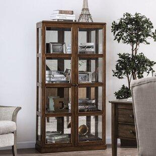 Lauren Curio 2 Door Accent Cabinet by Alcott Hill