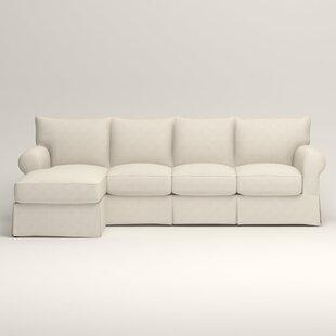 Terrific Jameson Slipcovered Sleeper Sectional Inzonedesignstudio Interior Chair Design Inzonedesignstudiocom