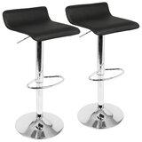 Wondrous Modern Adjustable Bar Stools Counter Stools Allmodern Machost Co Dining Chair Design Ideas Machostcouk