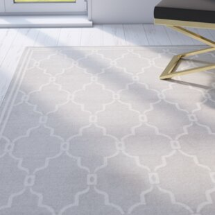 Wason Cotton Light Gray/Ivory Indoor/Outdoor Area Rug