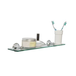 Charlton Home Reinke Glass Floating Shelf