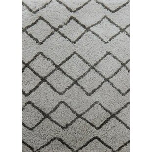 Low priced Gilmore Hand-Tufted Gray/Black Area Rug By Union Rustic