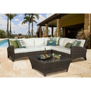 Sousa Sectional With Cushion by Bay Isle Home Discount
