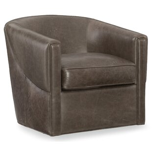 Bonnie Swivel Barrel Chair by Hooker Furn..