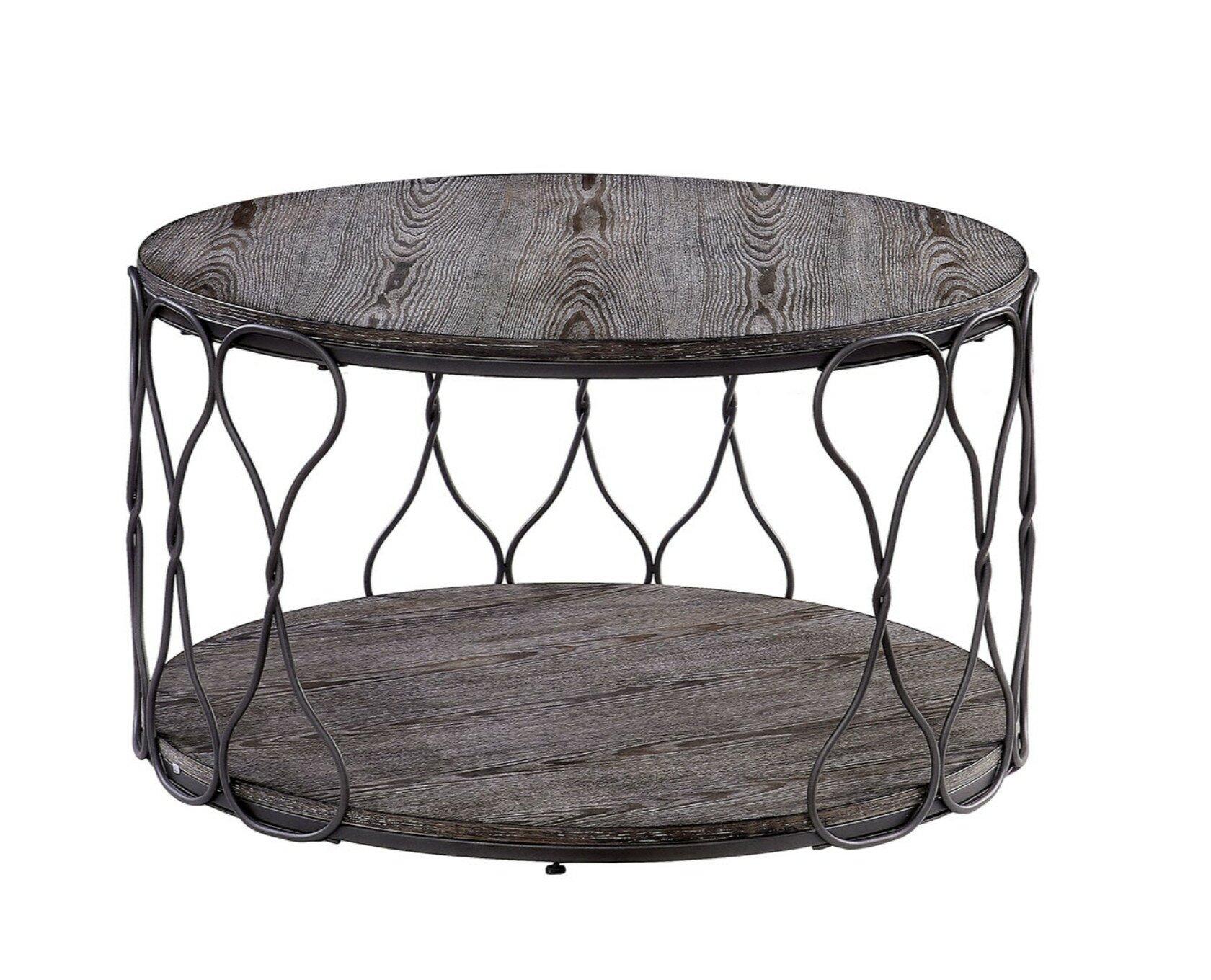 - Williston Forge Malley Floor Shelf Coffee Table With Storage Wayfair