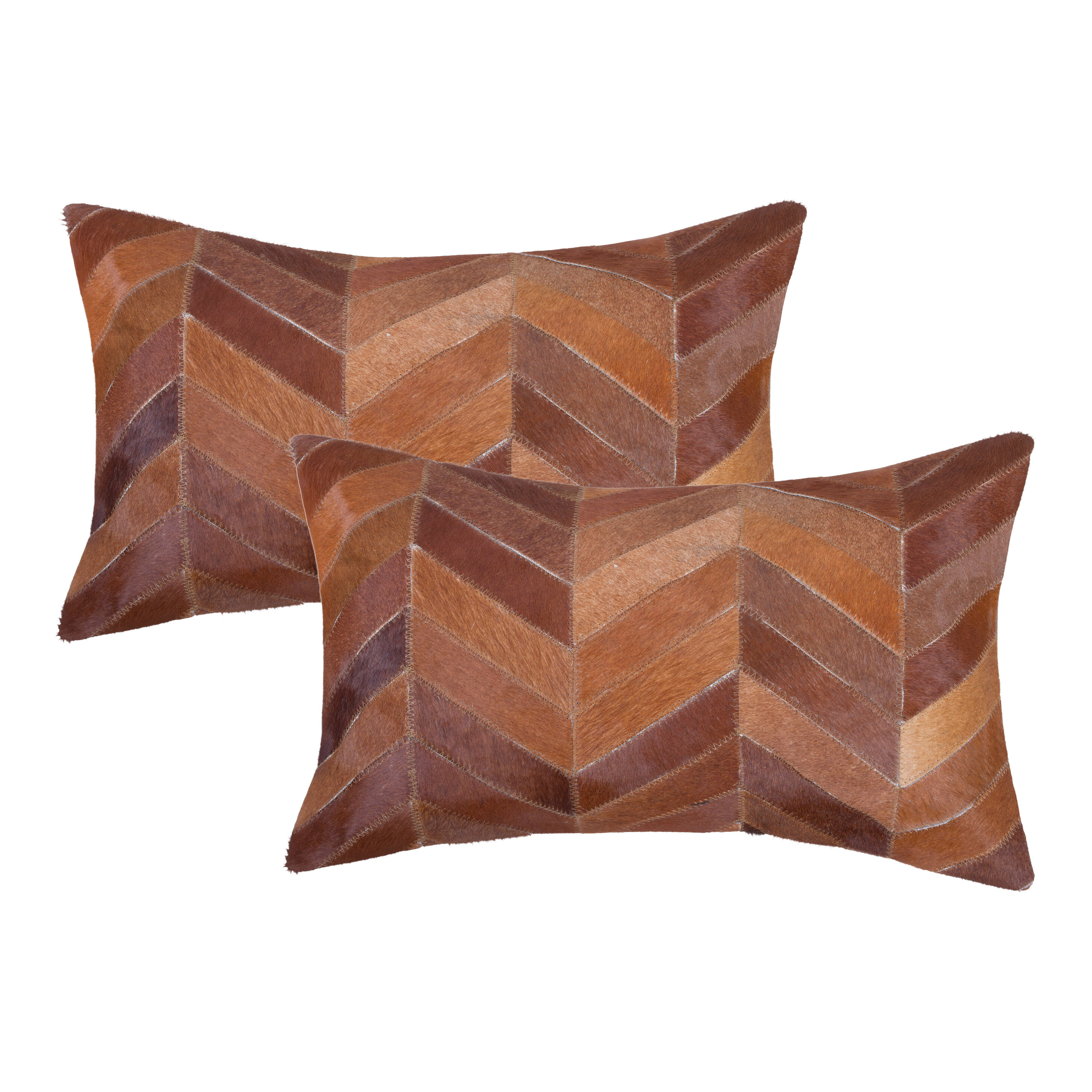 Foundry Select Warrnambool Rectangular Leather Pillow Cover And Insert Wayfair