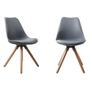 Plastic Dinning Side Chair (Set of 2) by Attraction Design Home
