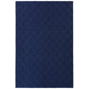 📣 Selig Amherst Tufted 4 X 6 Indigo Blue Indoor/Outdoor