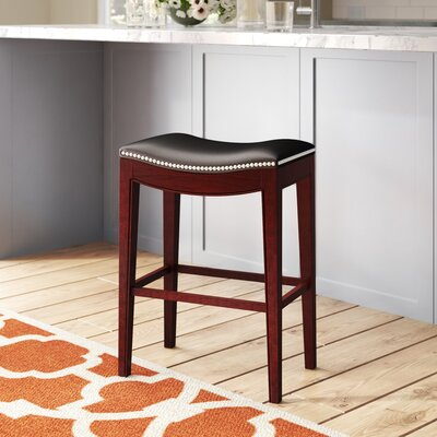 Faux Leather Saddle Seat Bar Stools You Ll Love In 2019