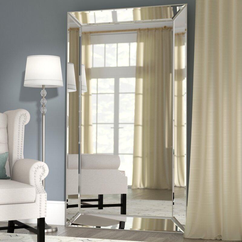 floor mirror. Primm Antique Floor Full Length Mirror