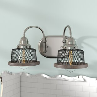 Price Check Murillo 2-Light Vanity Light By Beachcrest Home