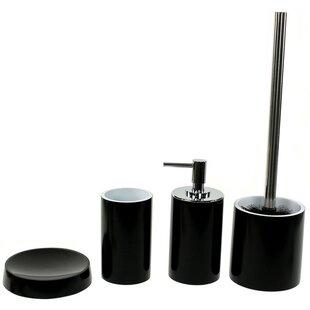 Gedy by Nameeks Yucca 4-Piece Bathroom Accessory Set