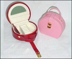 Best Deals Lizard Grain Ladies Jewelry Box ByBudd Leather