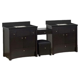 Vangundy 93 Double Bathroom Vanity Set by Royal Purple Bath Kitchen