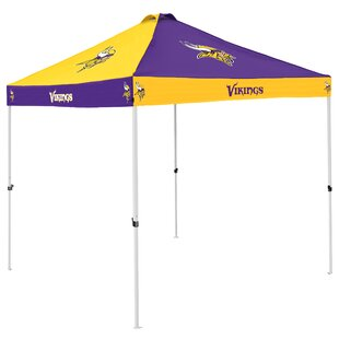 Logo Brands Pagoda 9 Ft. W x 9 Ft. D Steel Pop-Up Canopy