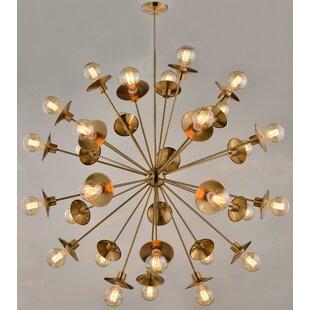 Brayden Studio Espinosa 30-Light Sputnik Chandelier