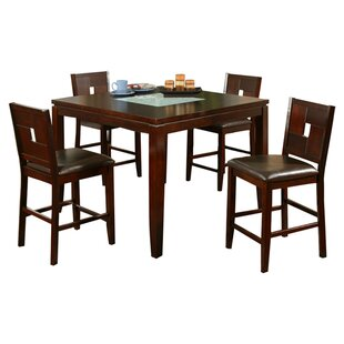 Lakeport 5 Piece Dining Set Alpine Furniture