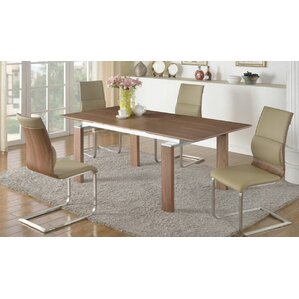 Dave Wood Pop-Up Extendable Dining Table ..