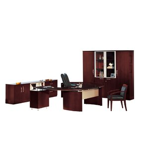 Napoli Series Desk Office Suite by Mayline Group Spacial Price