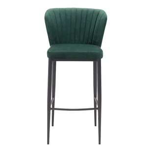 Corsham 30.1 Bar Stool by Everly Quinn Today Only Salet