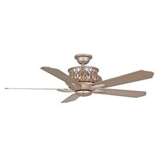 dazzling design ideas modern rustic ceiling fan. 52  Jonson 5 Blade Ceiling Fan with Remote Gold Fans You ll Love Wayfair